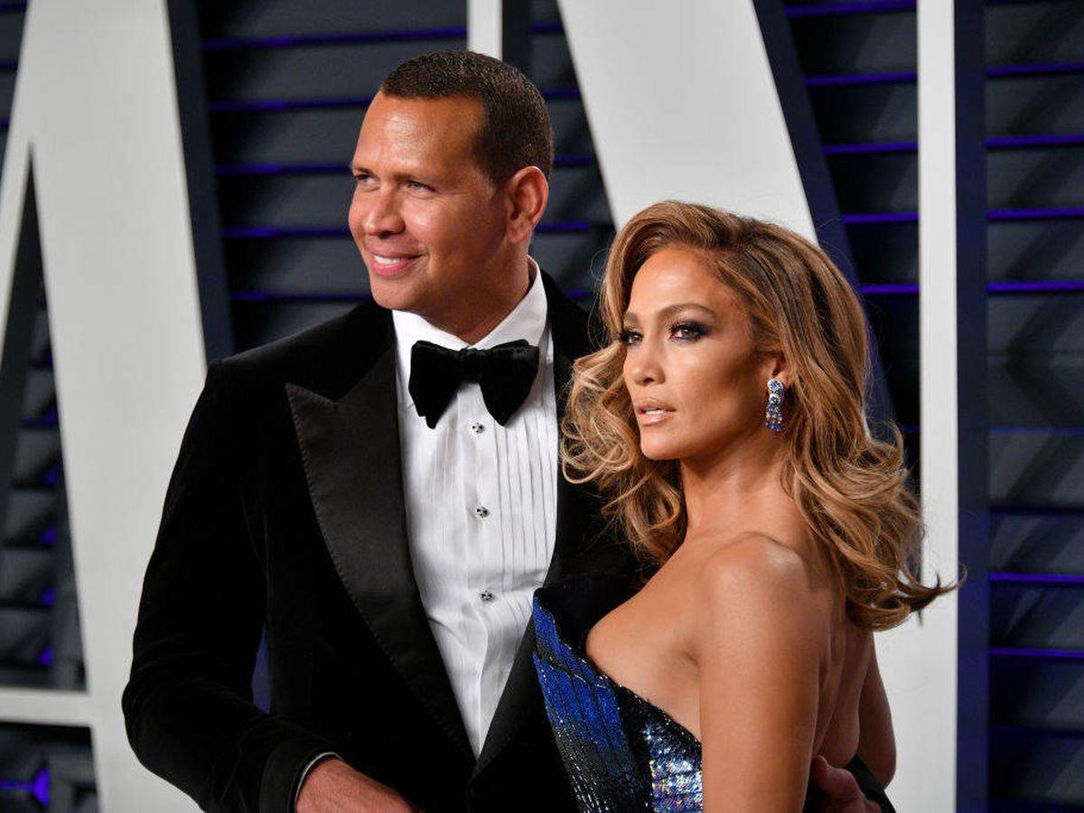 Foto: Jennifer Lopez y Alex Rodriguez. (Getty)