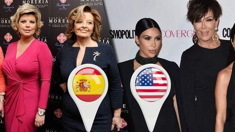 De Terelu y Mª Teresa a Kim y Kris: por qué las Campos son las Kardashian
