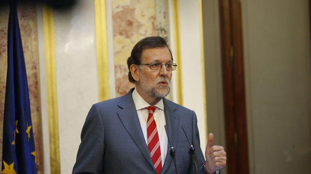 Foto: Rueda de prensa de Mariano Rajoy. (EFE)