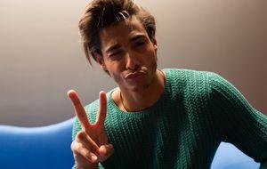 Entrevistamos a Aaron Díaz: el modelo masculino habitual de la semana de la moda