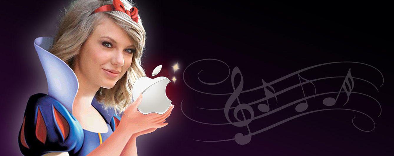 Foto: Taylor Swift ha mordido la manzana (de Apple) y no se ha envenenado ('Vanitatis')