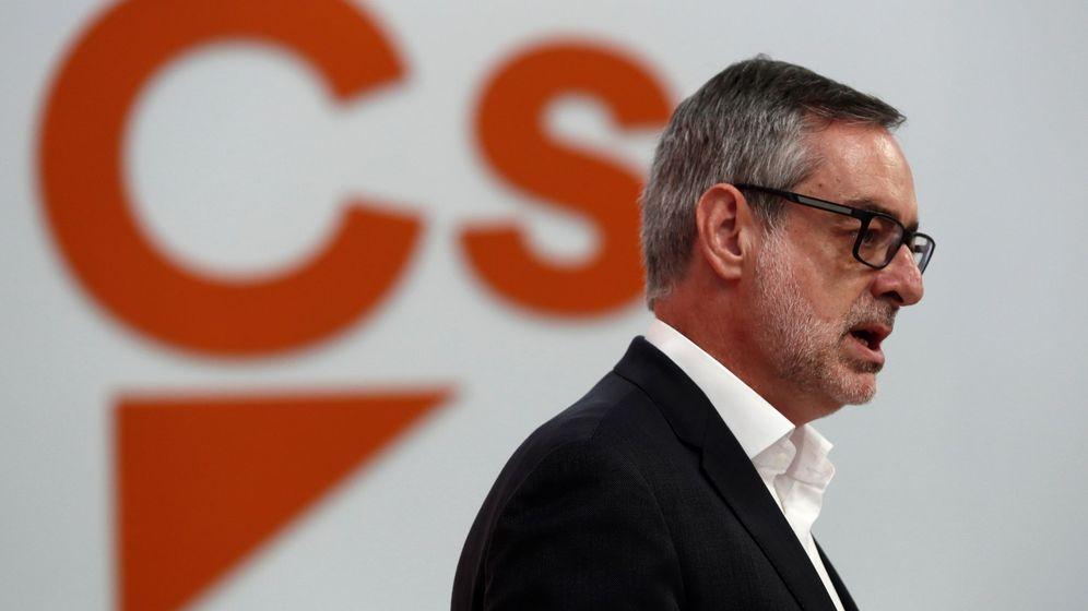 Foto: El secretario general de Ciudadanos (Cs), José Manuel Villegas. (EFE)