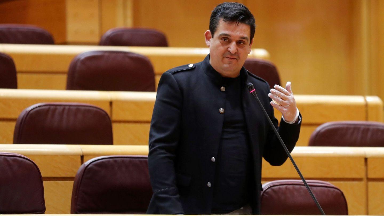 Mulet, senador valenciano de Compromís, ha hecho 10.000 preguntas en esta legislatura. (EFE)