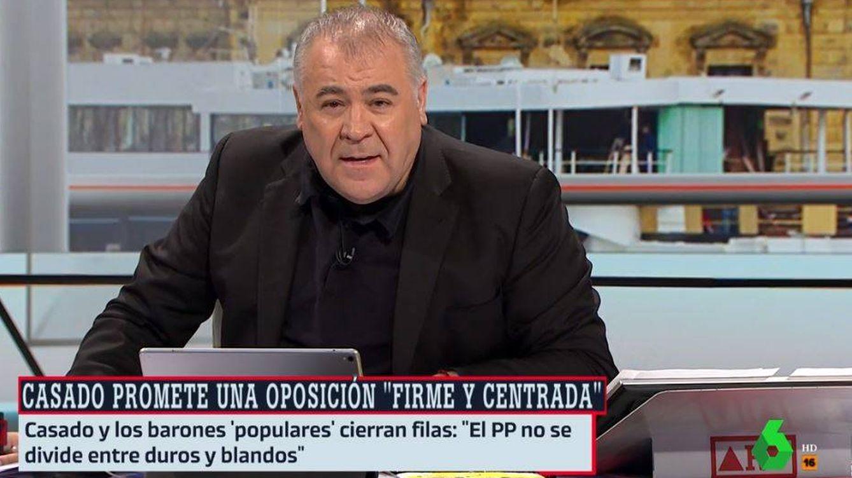 Antonio G. Ferreras, traicionado (de nuevo) por un micro abierto en 'ARV': ¿Dónde vas?