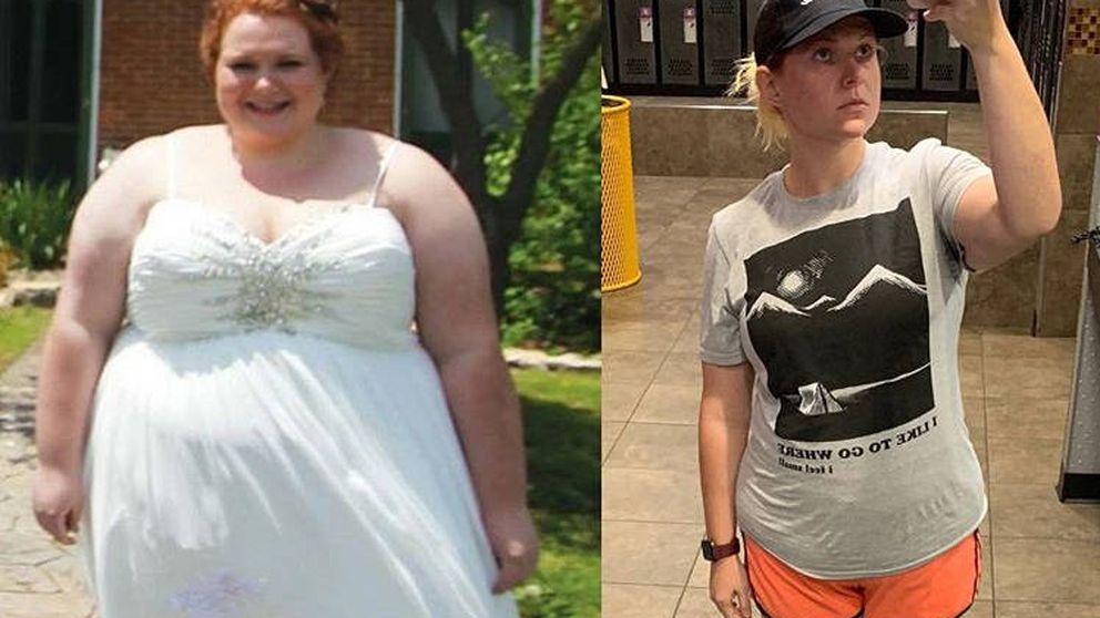 Le hicieron bullying en el colegio por su peso, pero logró adelgazar casi 100 kilos
