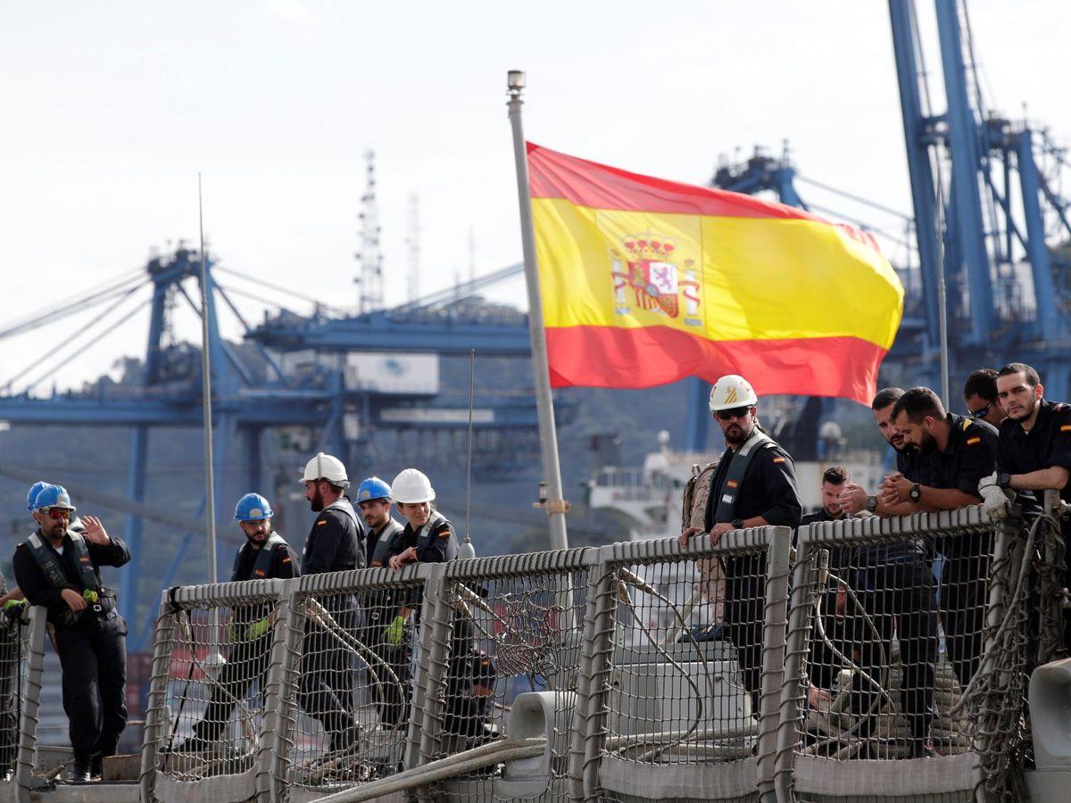 Foto: La fragata Méndez Núñez. (EFE)