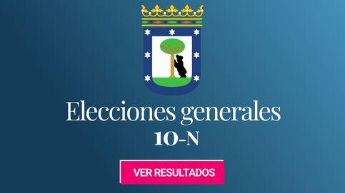 Resultados de las elecciones generales 2019 en Madrid capital