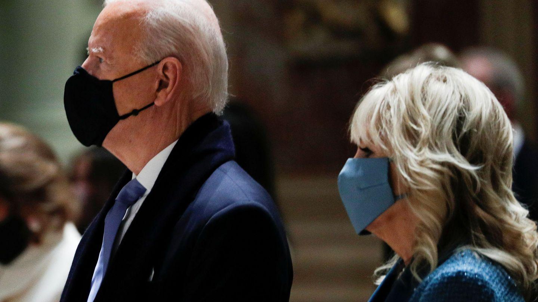 El presidente electo y Jill Biden. (Reuters)