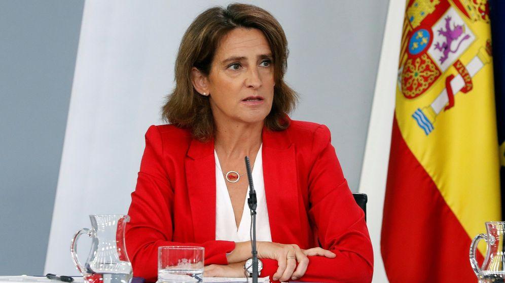 Foto: La ministra Teresa Ribera en rueda de prensa tras el Consejo de Ministros. (EFE)