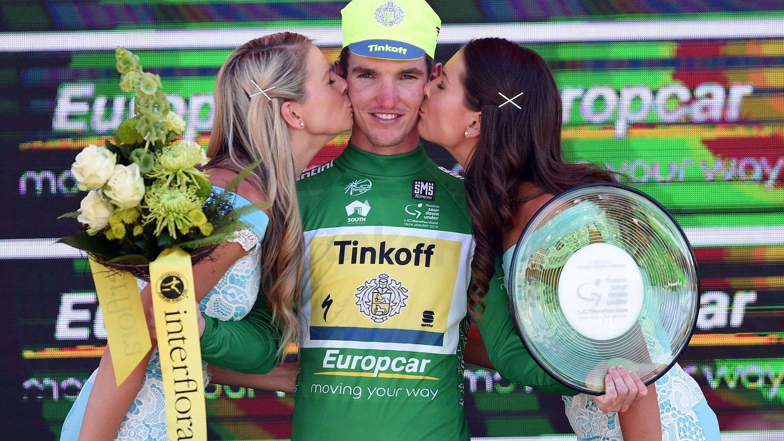 Foto: Esta imagen no se volverá a ver en el Tour Down Under (Dan Peled/EFE/EPA).