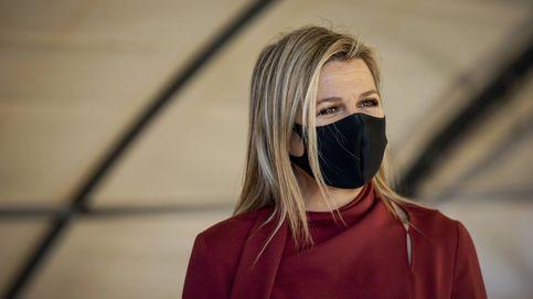 Máxima de Holanda y la falda sostenible que le ha copiado a Matilde de Bélgica