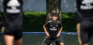 Post de El mosqueo del Barcelona con el agente de Kubo (del que se aprovechó el Real Madrid)