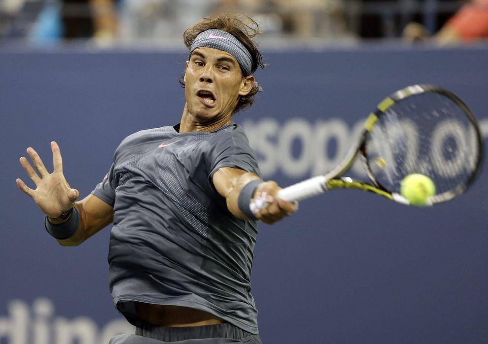 Foto: El tenista español Rafa Nadal ya está en tercera ronda del Abierto de Estados Unidos.