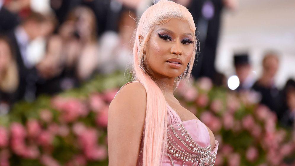 Foto:  Nicki Minaj, en la gala MET 2019. (Getty)