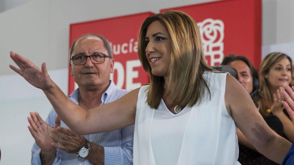 Foto: La secretaria general del PSOE-A y presidenta andaluza, Susana Díaz. (EFE)