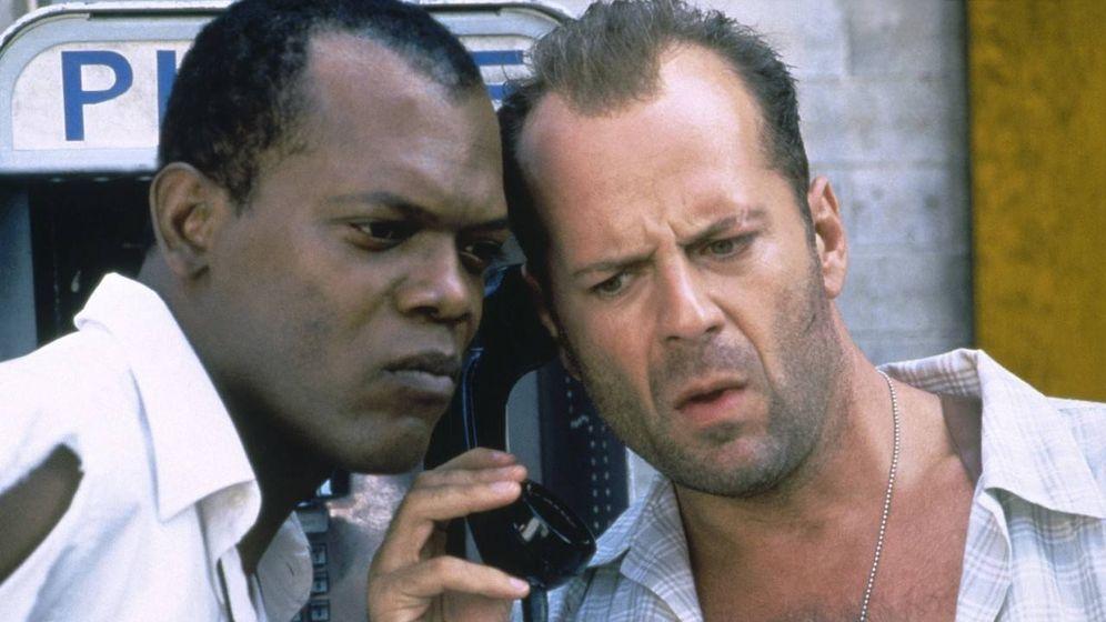 Foto: Samuel L. Jackson y Bruce Willis en 'Jungla de cristal. La venganza'