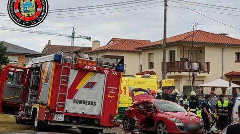 Dos jóvenes heridas muy graves tras un accidente en Corbán, Santander