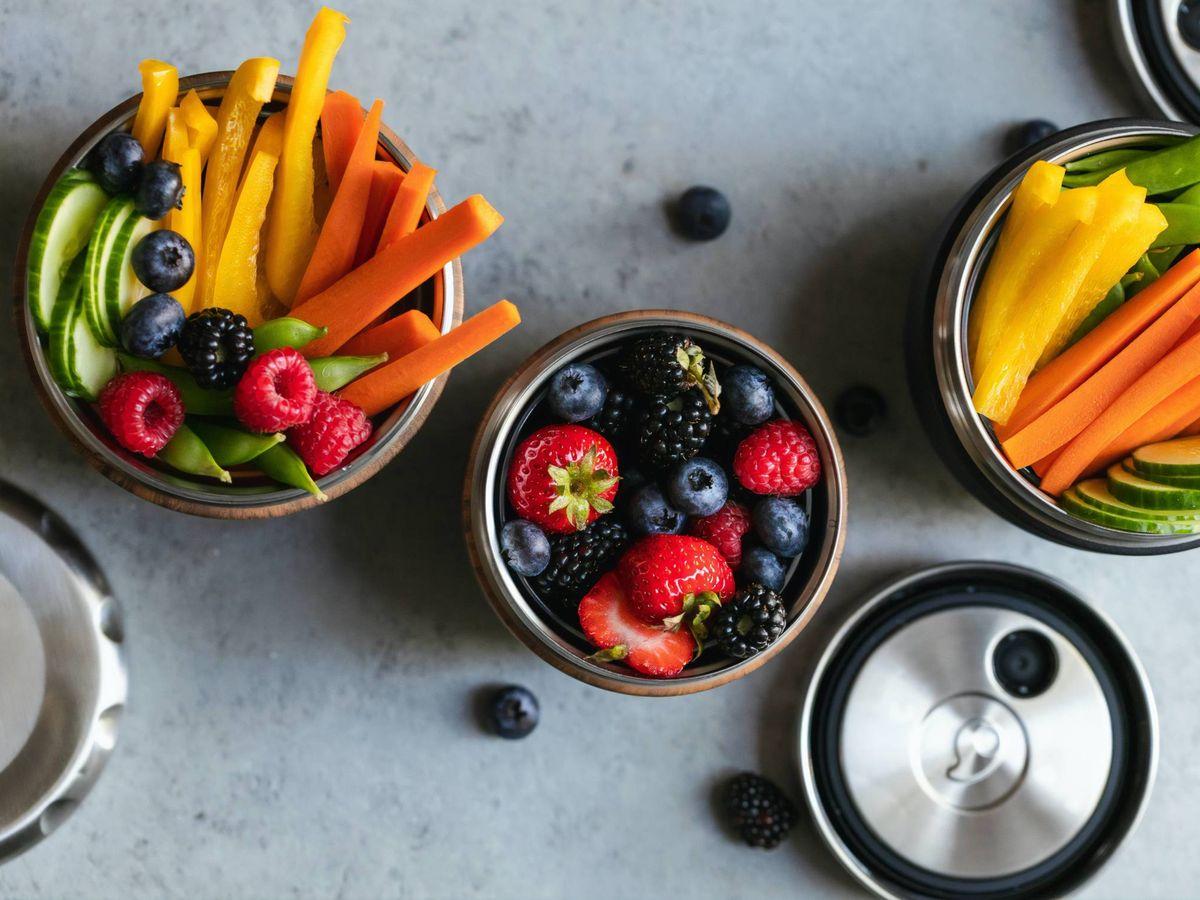 Foto: Dieta antihambre: adelgaza consumiendo alimentos saciantes. (S'well para Unsplash)