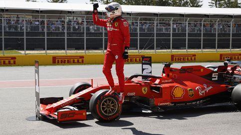 Fórmula 1: Vettel logra la pole en Canadá y sanción para un Carlos Sainz que falló (12º)