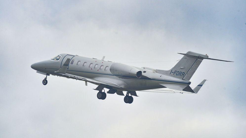 Foto: Un 'jet' privado en pleno vuelo. (EFE)