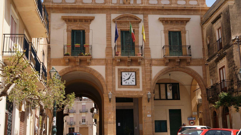 Palazzo dell arpa en Sambuca de Sicilia.