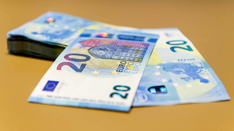 Los falsificaciones de billetes de 20 euros, una nueva amenaza para el comercio