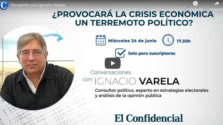 El terremoto político está a punto de comenzar: encuentro con Ignacio Varela
