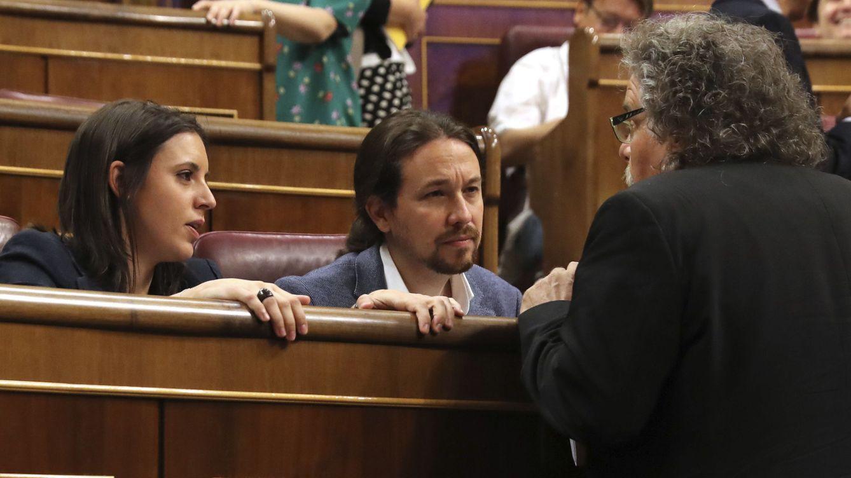 Pablo Iglesias anuncia que recurrirá ante el Tribunal Constitucional la aplicación del 155