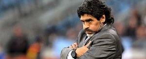 """Maradona: """"Esto es lo más duro que me ha tocado vivir"""""""