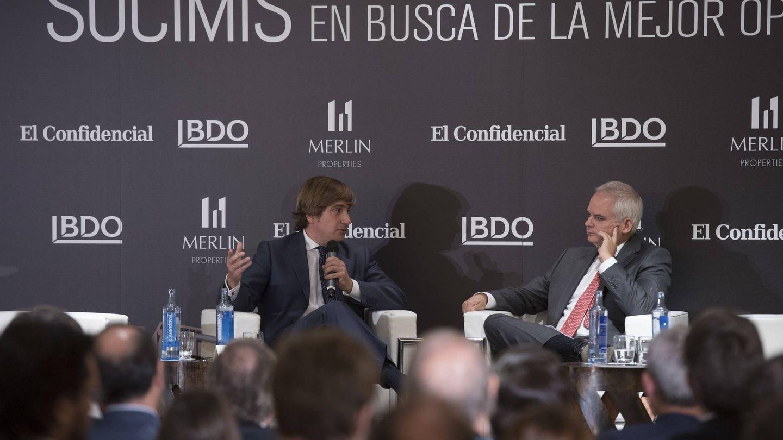 José Ramón Iturriaga (Abante Asesores Financieros), con Alberto Artero (El Confidencial).