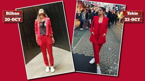 Ana de Armas, una turista en Tokio vestida de Paula Echevarría