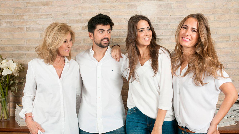 Los hijos de Purificación García: Nos encantó que la reina Letizia conociese nuestra marca
