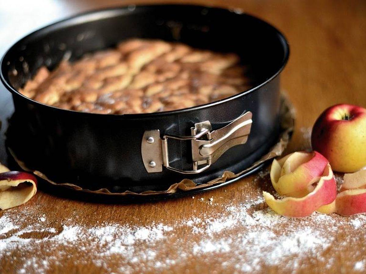 Foto: Bizcocho de manzana. (Pixabay)