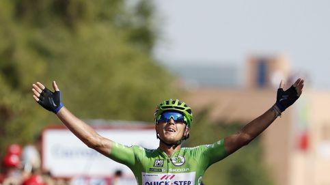 'Hat-trick' de Trentin, el único velocista que disfruta en la Vuelta