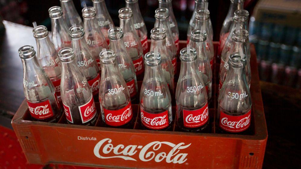 Foto: Botellas de Coca Cola
