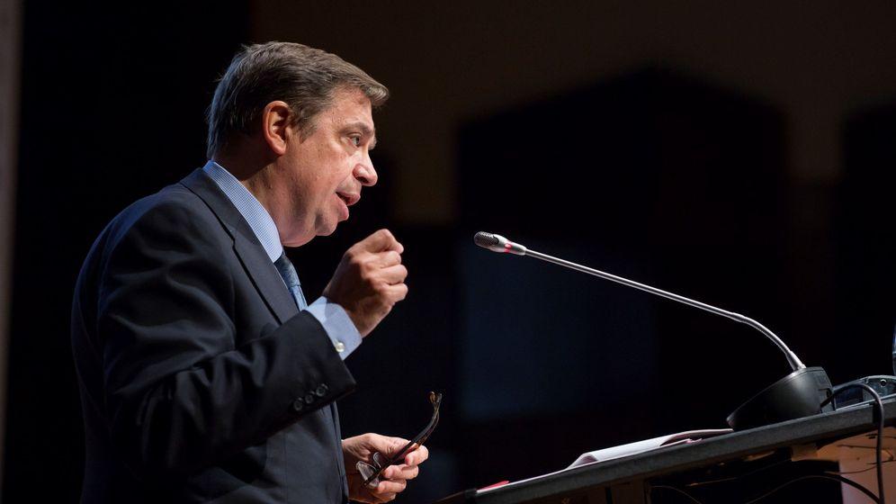 Foto: El ministro de Agricultura, Pesca y Alimentación, Luis Planas