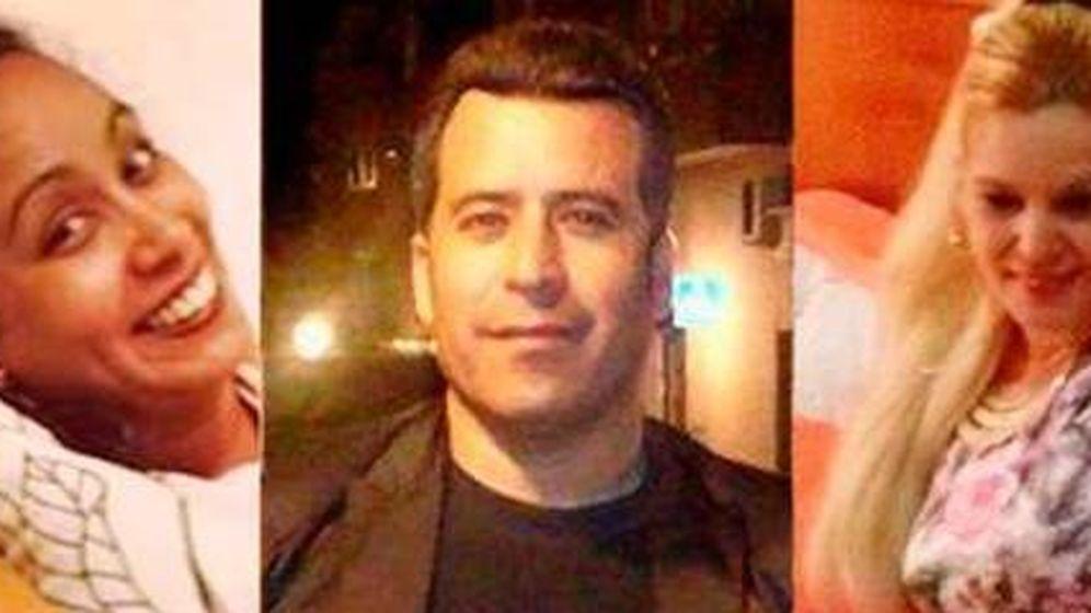 Foto: Elisa Consuegra, John Pepe Castillo y Maritza Osorio, las tres víctimas del crimen de Usera. (EFE)