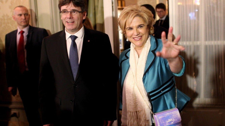 Pilar Rahola, la favorita de Puigdemont para ser la próxima alcaldesa de Barcelona