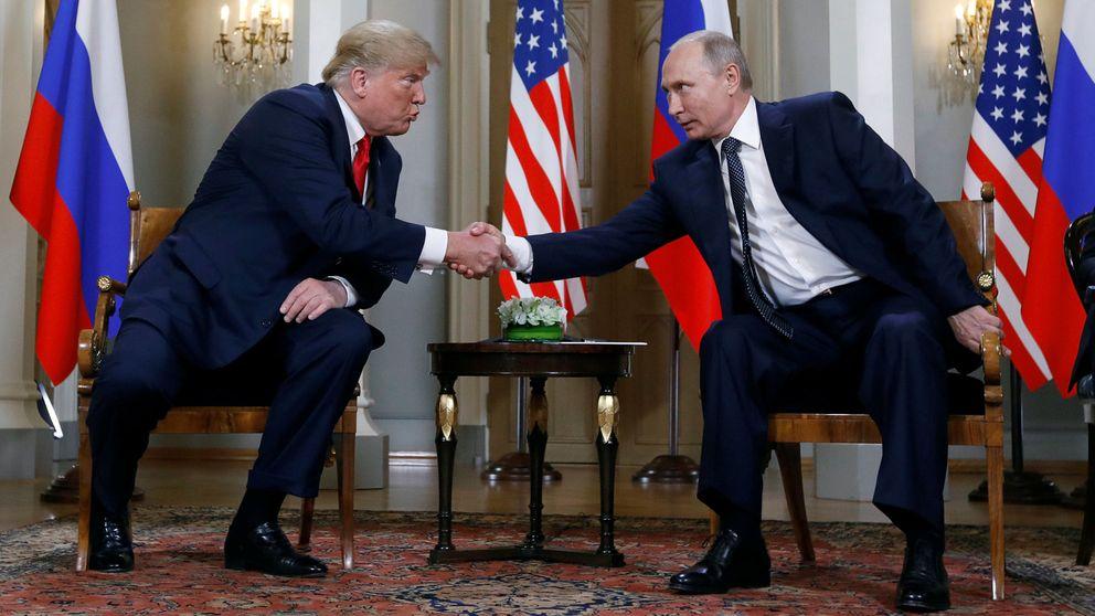 Trump y Putin, cara a cara: las mejores imágenes del encuentro