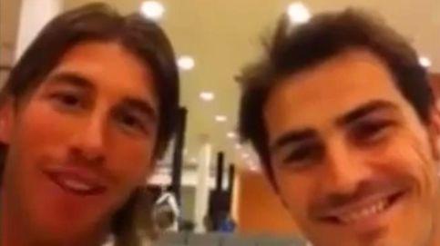 Así ha despedido Sergio Ramos a Iker Casillas