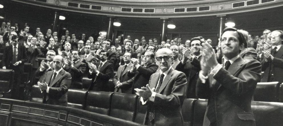 Foto: El Congreso de los Diputados aprueba la Constitución en 1978. (EFE)