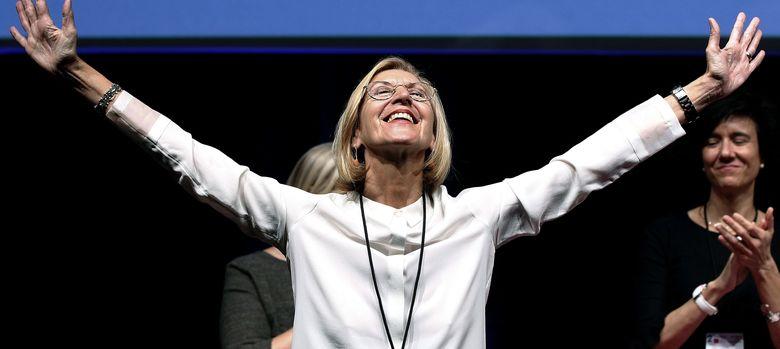 Foto: Rosa Díez, aclamada en el II Congreso Nacional de UPyD.