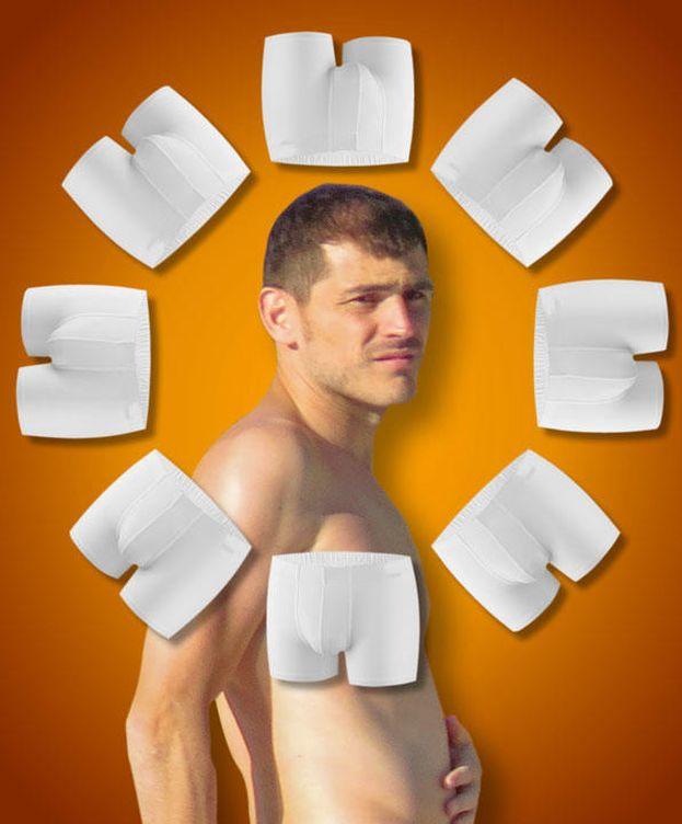 Foto: Iker Casillas en un fotomontaje realizado en Vanitatis
