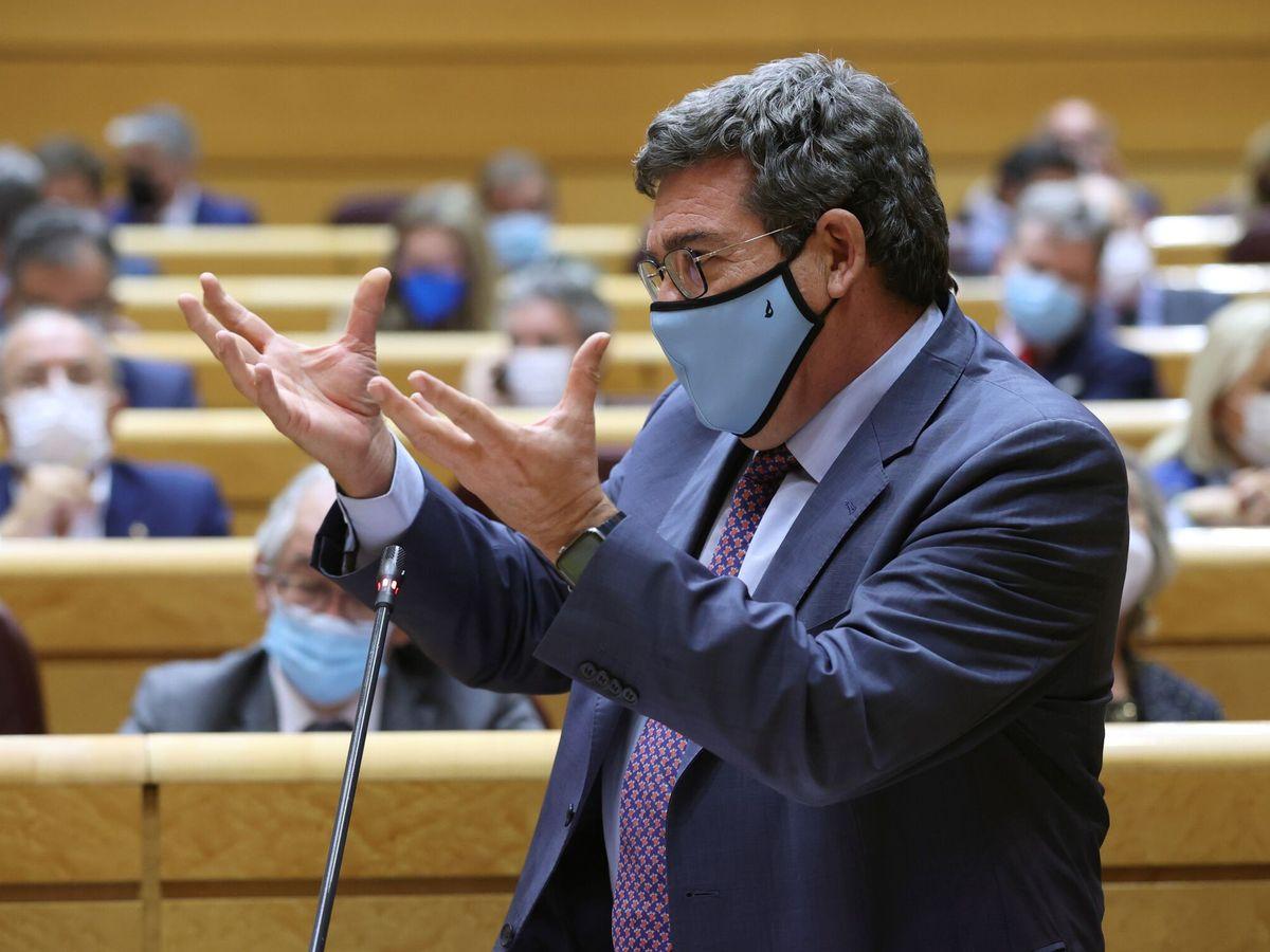 Foto: José Luis Escrivá, ministro de Inclusión, Seguridad Social y Migraciones. (EFE)