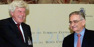 El Banco de España destaca el papel de Rojo en las provisiones anticíclicas