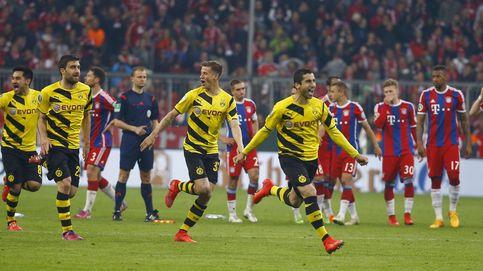 El Bayern se resbala, falla cuatro penaltis y se despide de la Copa ante el Dortmund