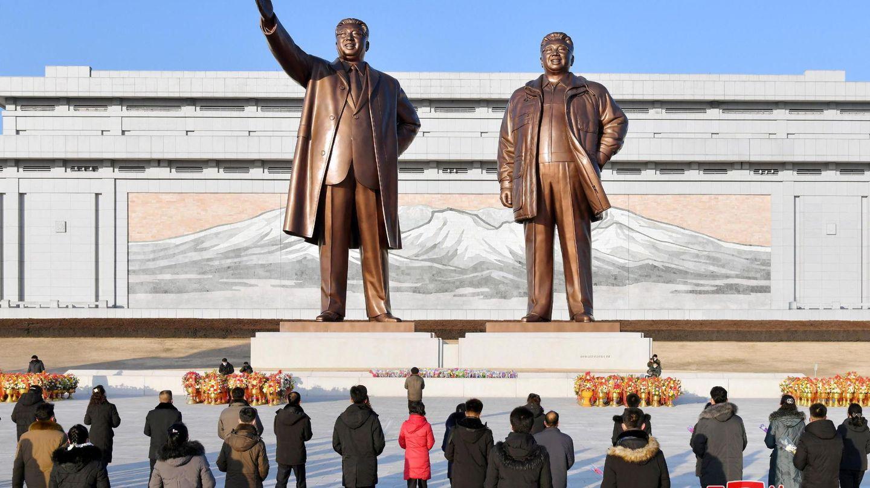Pyongyang en Año Nuevo, 2021. REUTERS