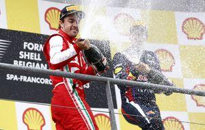 La mejor actuación en Spa: ¿Vettel o Fernando Alonso?