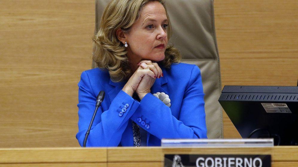 Foto: La ministra de Economía y Empresa y presidenta de la Comisión Delegada del Gobierno para Asuntos Económicos, Nadia Calviño. (EFE)