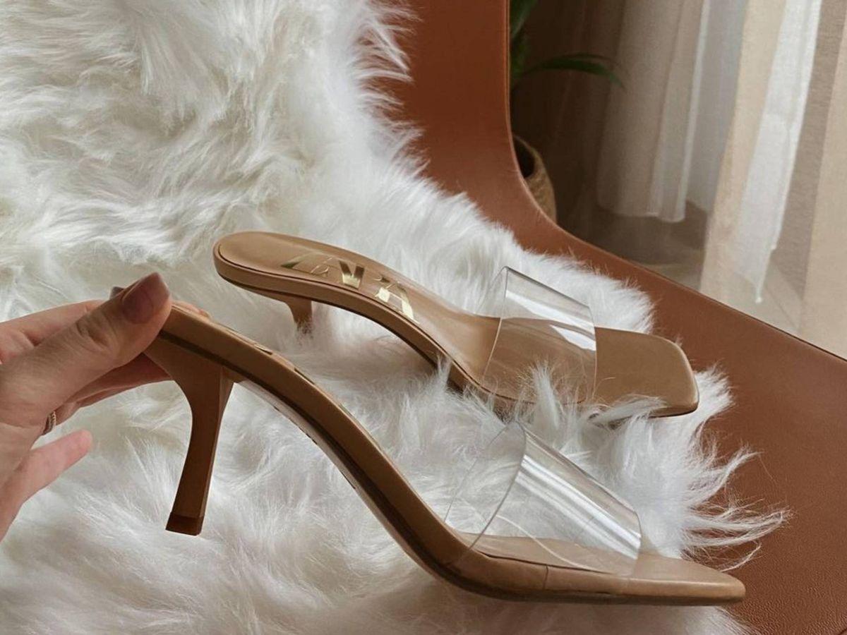 Foto: Las nuevas sandalias virales de Zara. (Instagram @____chisyan____)